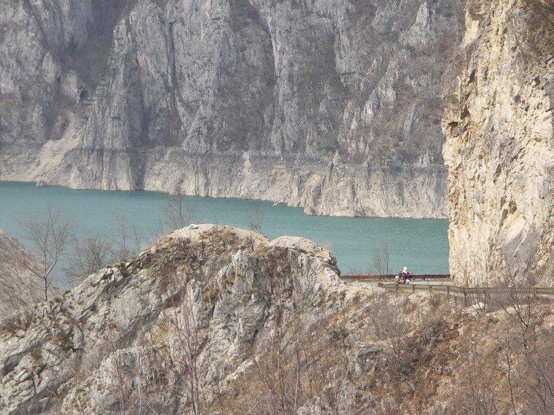 Piva Canyon - A sense of scale