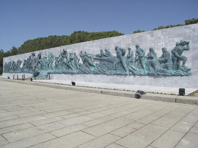 Turkish Memorial - Gallipoli